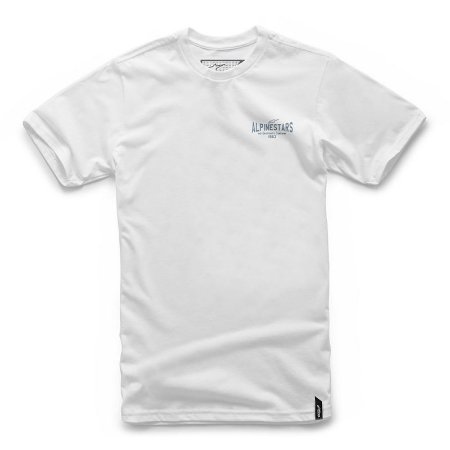 Camiseta Alpinestars Ride On Branca