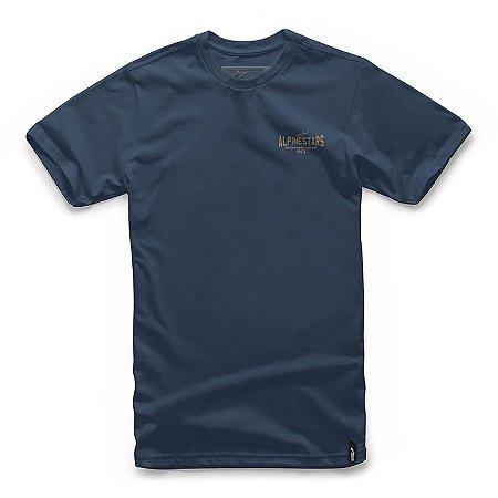 Camiseta Alpinestars Ride On Azul Marinho
