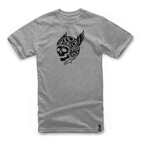 Camiseta Alpinestars Demon Cinza