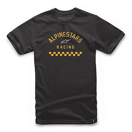 Camiseta Alpinestars Front Preto