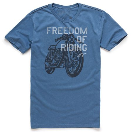Camiseta Alpinestars Freedom OF Azul