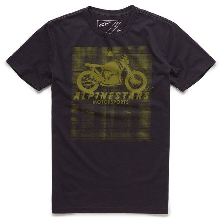 Camiseta Alpinestars Am Ride Preto