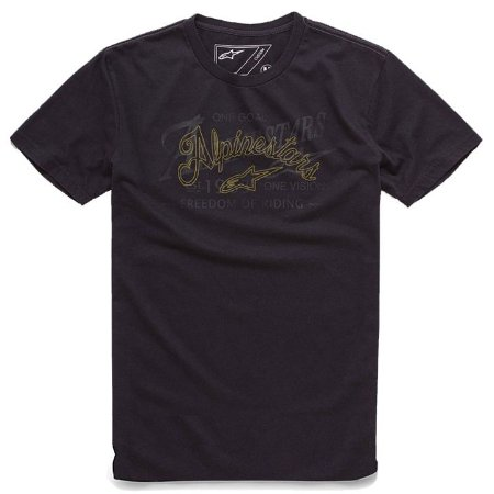Camiseta Alpinestar Scratch Preto