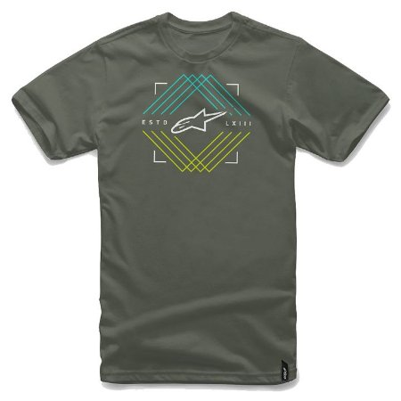 Camiseta Alpinestars Peaks Verde