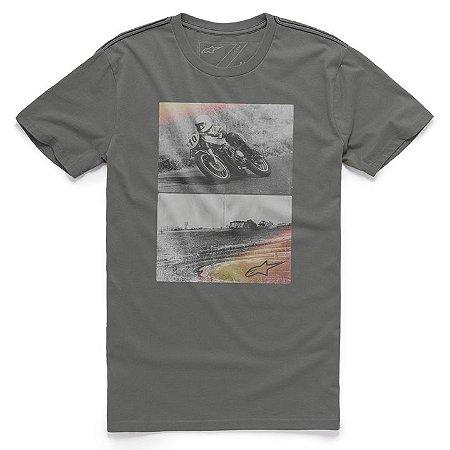 Camiseta Alpinestars Stack Cinza