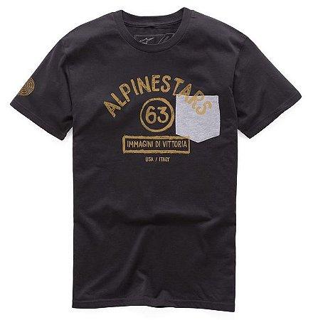 Camiseta Alpinestars Paint Premium Preto