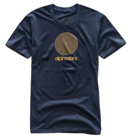 Camiseta Alpinestars Spiral Azul Marinho