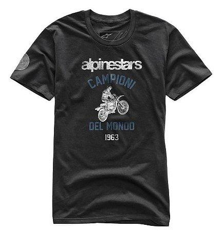 Camiseta Alpinestars Jump Premium Preto