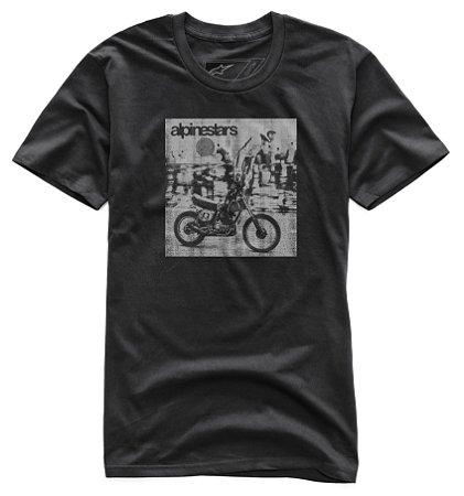 Camiseta Alpinestars Stunt Premium Preto