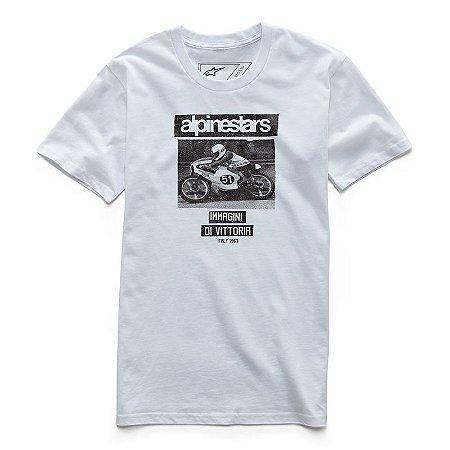 Camiseta Alpinestars Tuck Premium Branco