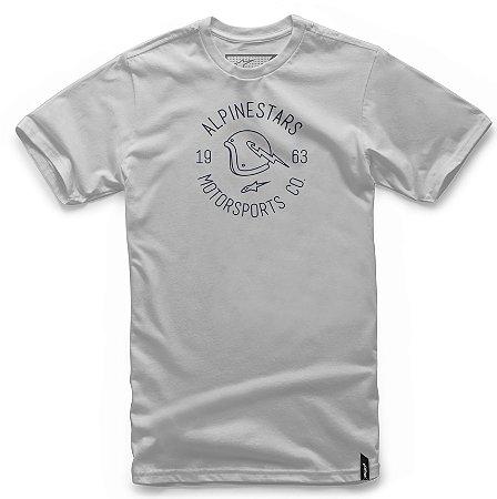 Camiseta Alpinestars Winged Cinza