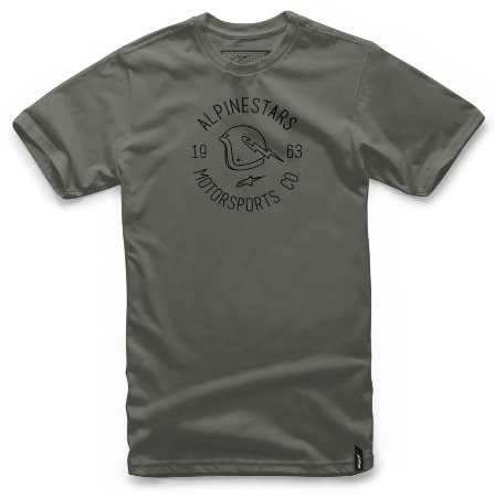 Camiseta Alpinestars Winged Verde