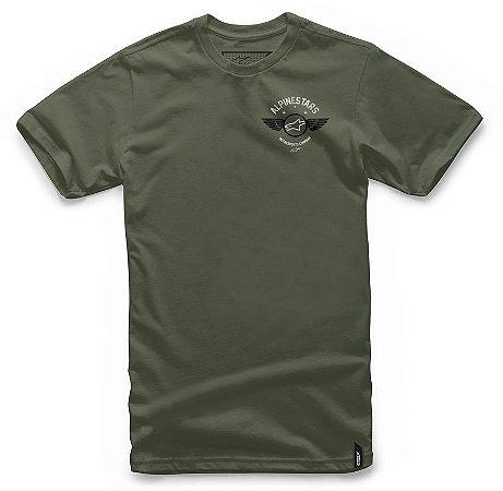 Camiseta Alpinestars Fierce Verde