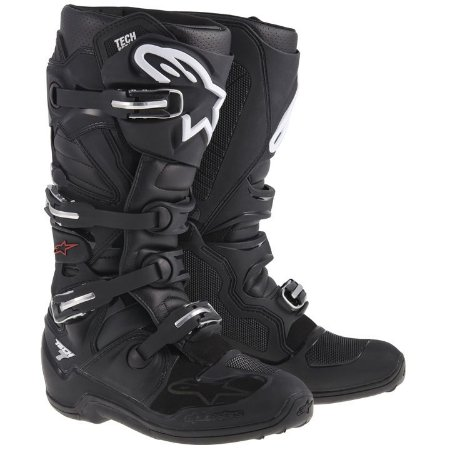 Bota Motocross Alpinestars Tech 7 Tech7 Preta Trilha Cross