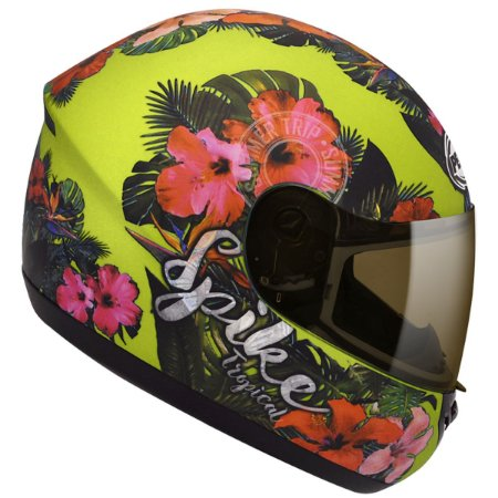 Capacete Peels Spike Tropical Verde