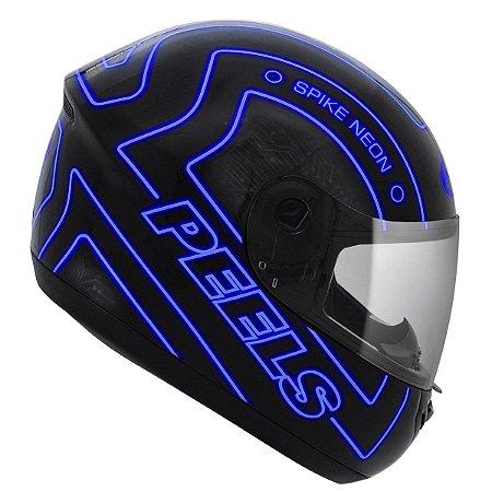 Capacete Peels Spike Neon Azul