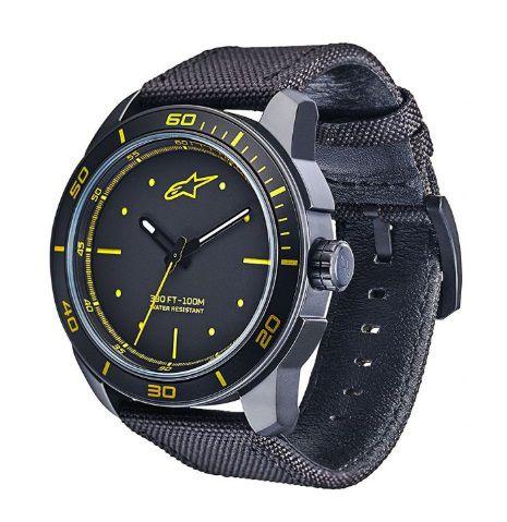 Relógio Alpinestars Tech 3H - Preto/Amarelo