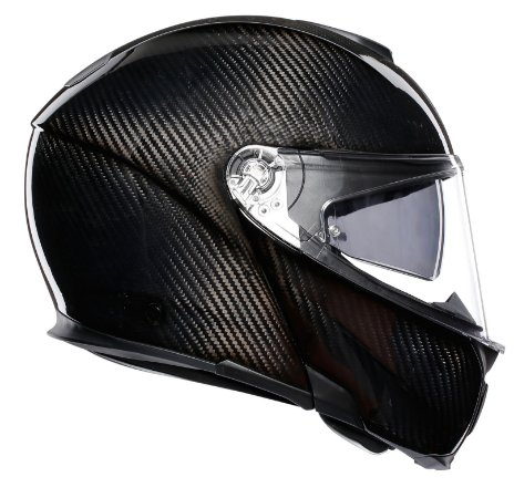 Capacete AGV Sportmodular Monocolor Carbon - Preto