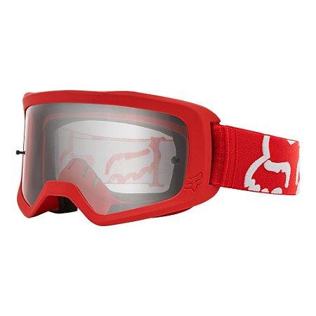 Óculos Fox Main II Race - Vermelho/Branco