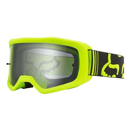 Óculos Fox Main II Race -  Amarelo Fluor/Preto