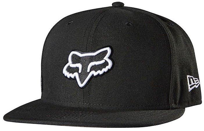 Boné Fox Grounder 59 Fifty - Preto
