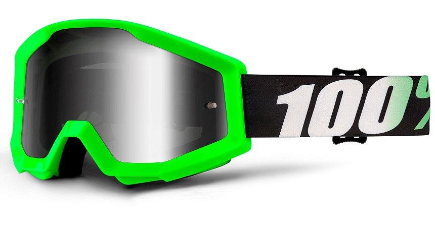 Óculos 100% Strata Arkon - Verde/Preto/Branco