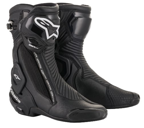 Bota Moto Alpinestars Smx Plus V2 Preta Esportiva Speed