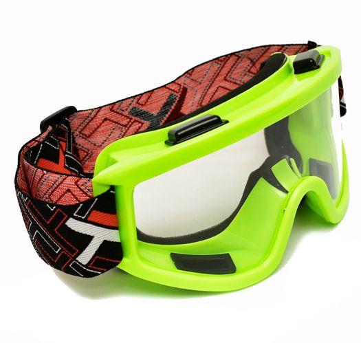 Óculos Motocross Mx Mattos Amarelo Cross Trilha