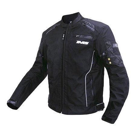 Jaqueta IMS Racewear Street - Preto (Impermeável)