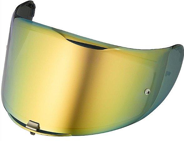Viseira Espelhada Dourada Gold Capacete Ls2 Ff323 Arrow