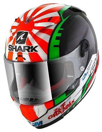 Capacete Shark Race-R Pro Johann Zarco -  Verde/Vermelho/Preto