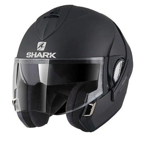 Capacete SHARK Evoline S3 Fusion - Preto Fosco