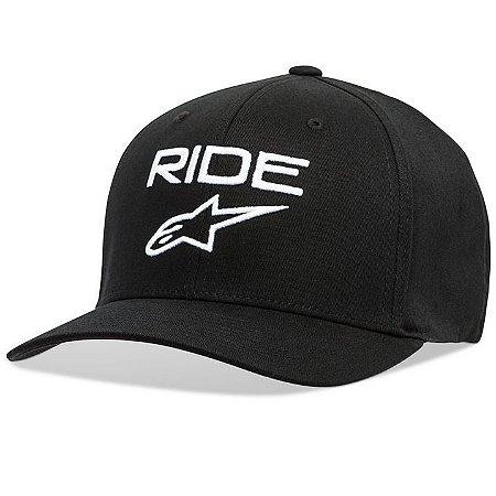 Boné Alpinestars Ride 2.0 - Preto/Branco