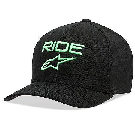 Boné Alpinestars Ride 2.0 - Preto/Verde