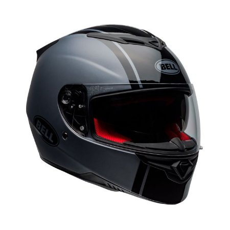 Capacete Bell RS-2 Rally Preto Cinza