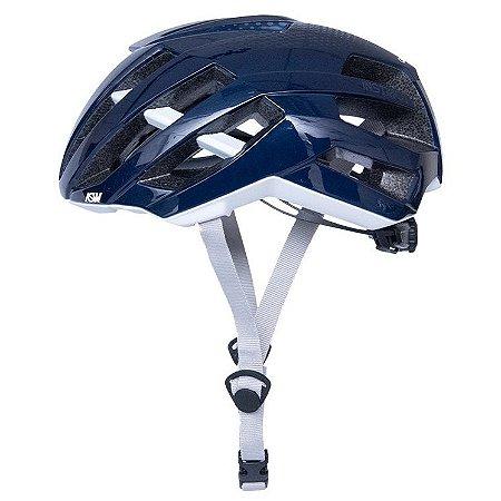 Capacete Asw Bike Instinct Azul Bicicleta Montain Bike