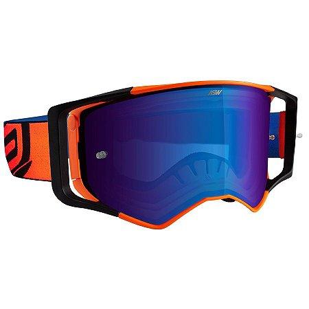 Óculos Asw Sirus Brigade Laranja Cross Motocross Trilha