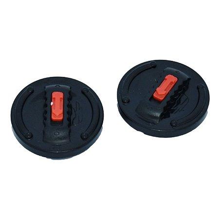 Botão Fixação Reparo Viseira Capacete Ls2 Ff358 Polivisor