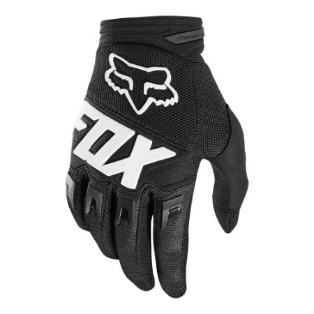 Luva Fox Mx Dirtpaw Preto Cross Motocross Trilha Enduro