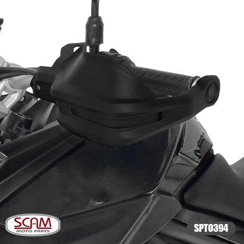 Protetor De Mao Yamaha Mt09 Mt07 2015+ Scam Spto394