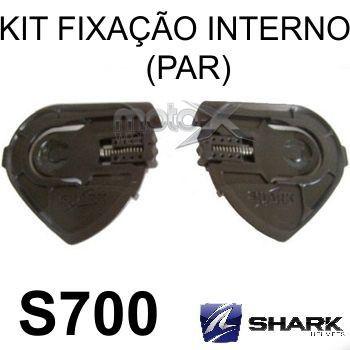 Kit Fixação Viseira Capacete Shark S700 S800 S900 Reparo