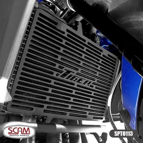 Protetor Radiador Triumph Tiger800 2012-2014 Spto113 Scam