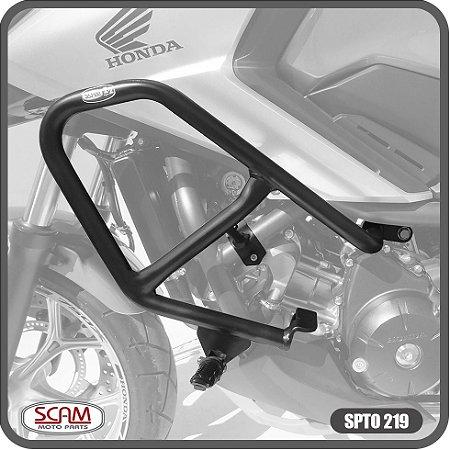 Protetor Motor Carenagem Sport Nc700x Nc750x 2013+ Preto