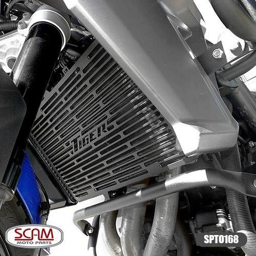 Protetor Radiador Triumph Tiger800 2015+ Spto168 Scam