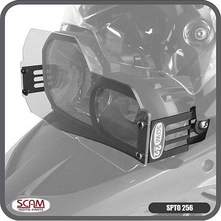 Scam Spto256 Protetor Farol Policarbonato Bmw F700gs 2017+