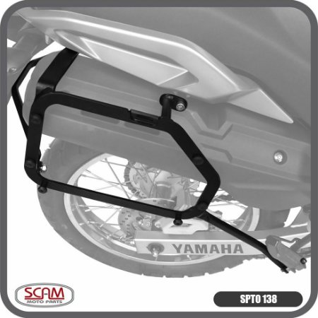 Suporte Baú Lateral Yamaha Tenere250 2016+ Scam