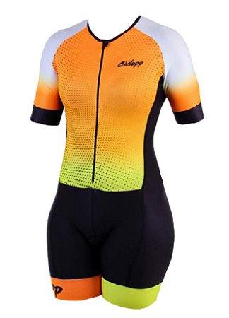 Macaquinho Ciclismo Feminino California Ciclopp Bike