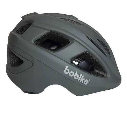 Capacete Bike Bobike Exclusive Urban Cinza Bicicleta