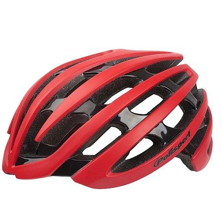 Capacete Ciclismo Polisport Light Road Vermelho Bike