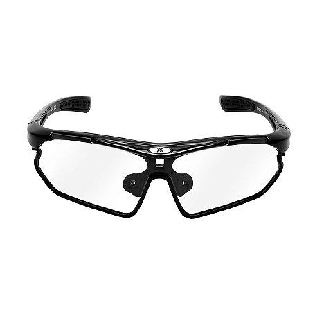 Oculos Bike Mattos Racing Vision Preto Lente Fotocromática
